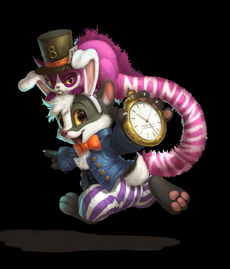 Brok in Wonderland - Silverfox